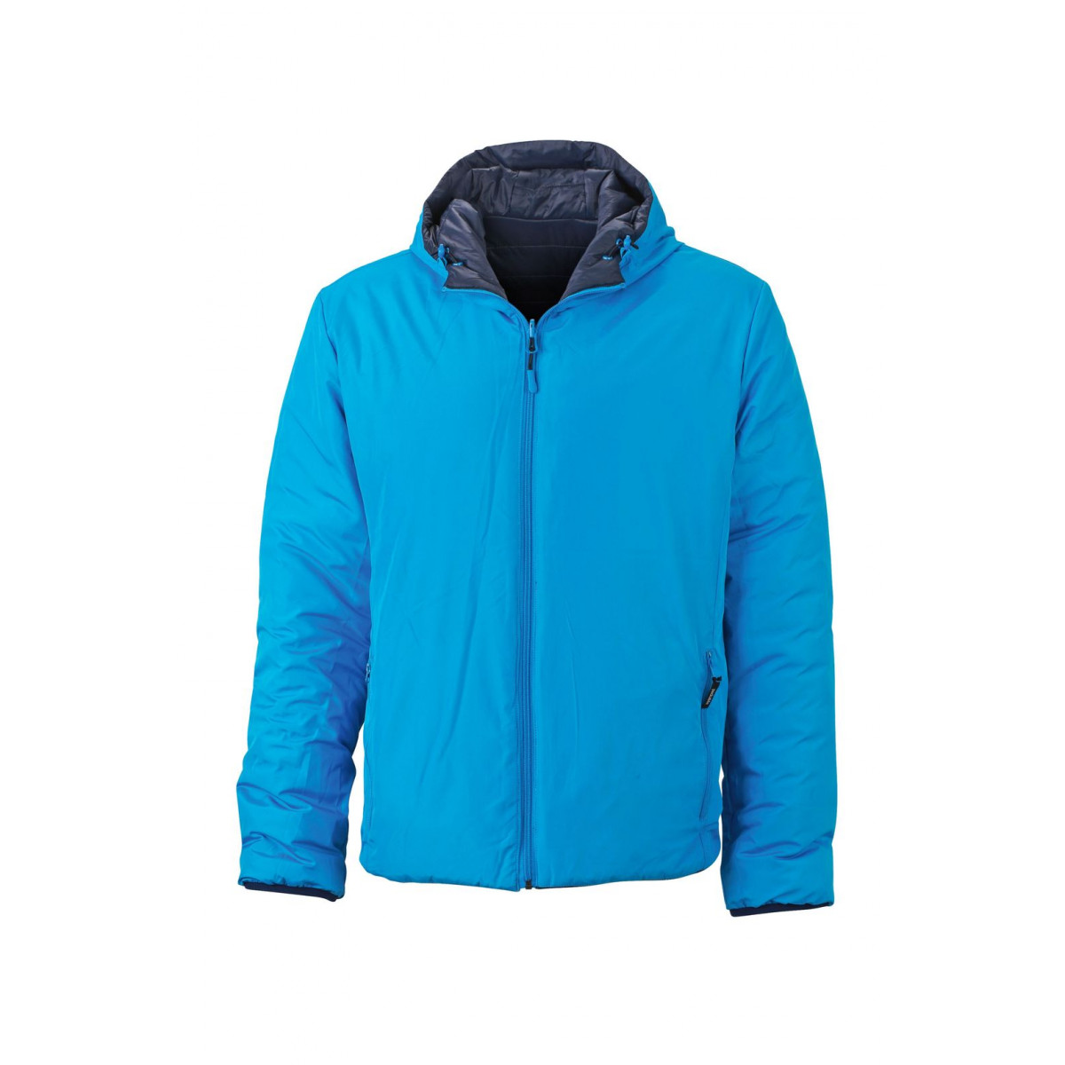 Куртка мужская JN1092 Mens Lightweight Jacket - Темно-синий/Аква