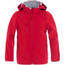Ветровка детская 020909 Basic Softshell Jacket Junior - Красный