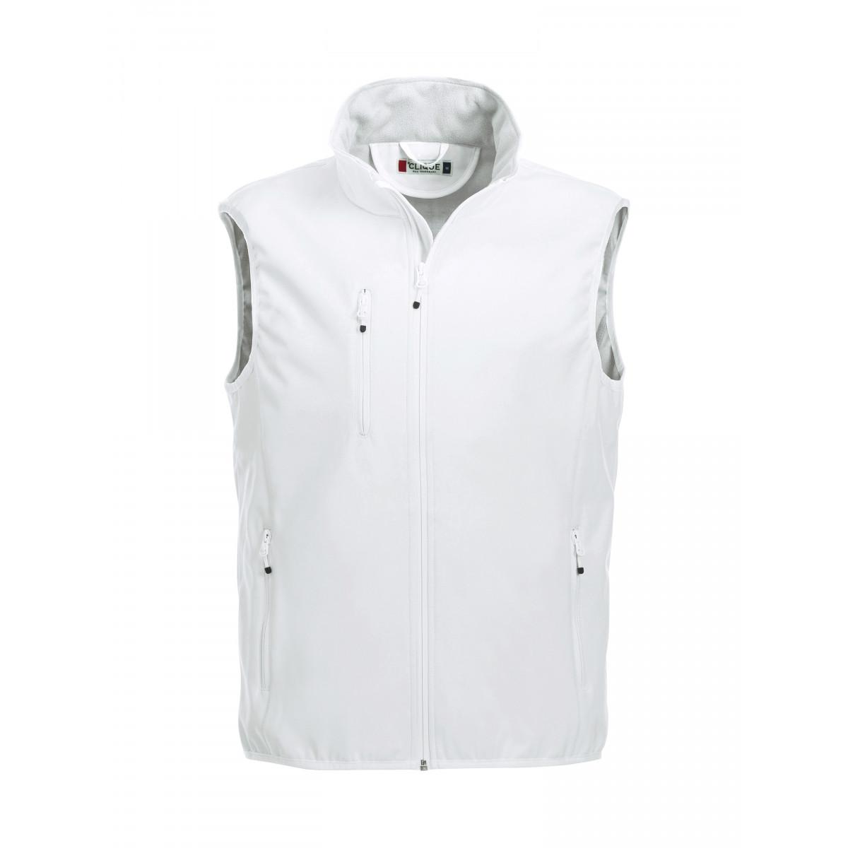 Жилет мужской 020911 Basic Softshell Vest - Белый
