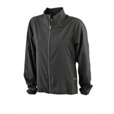 Куртка женская JN443 Ladies' Running Jacket - Черный/Черный