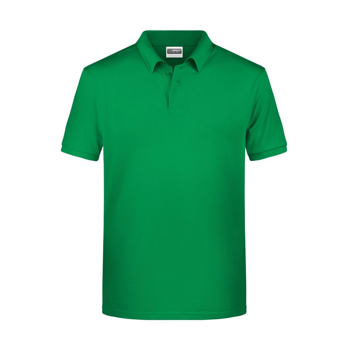 Рубашка поло мужская 8010 Mens Basic Polo - Насыщенный зеленый
