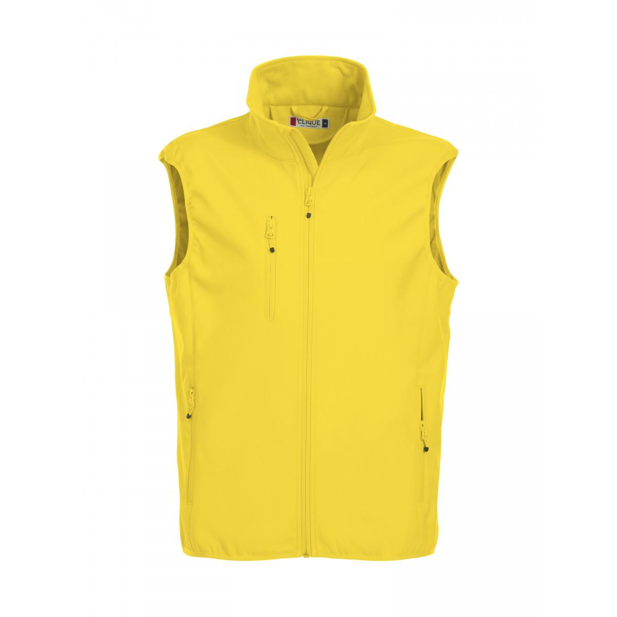 Жилет мужской 020911 Basic Softshell Vest - Желтый