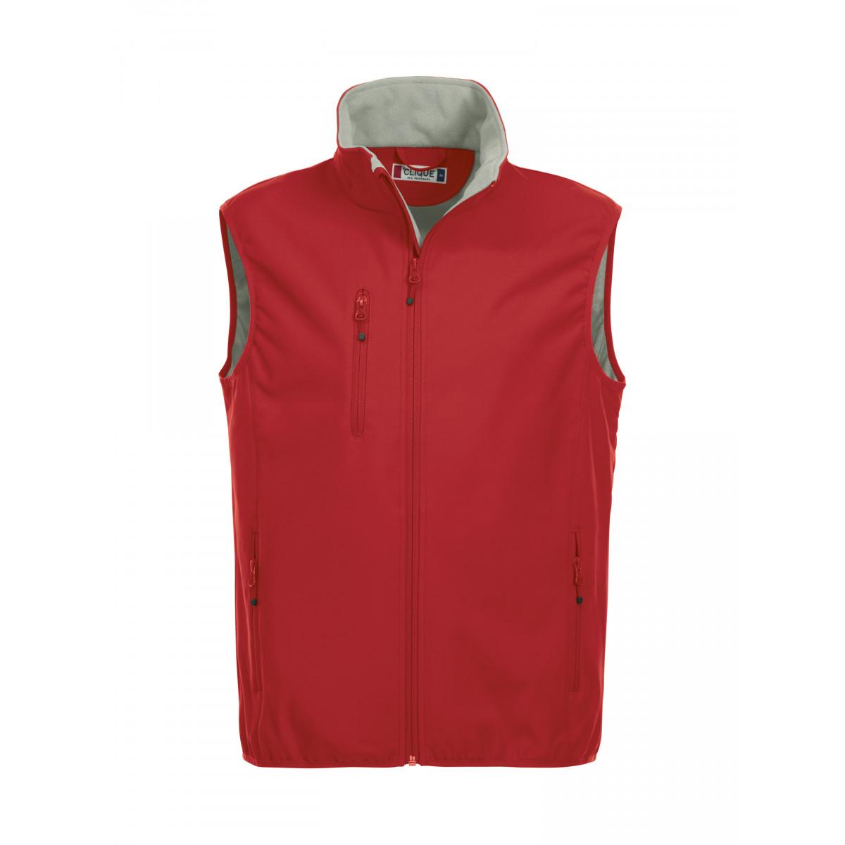 Жилет мужской 020911 Basic Softshell Vest - Красный