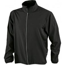Куртка мужская JN444 Men's Running Jacket - Черный/Черный