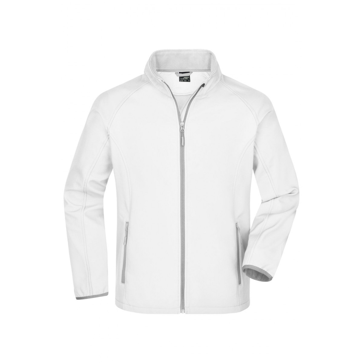 Куртка мужская JN1130 Mens Promo Softshell Jacket - Белый/Белый