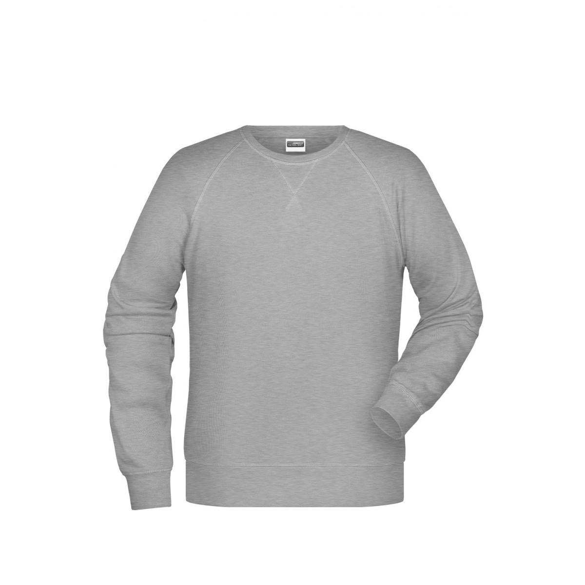 Толстовка мужская 8022 Men´s Sweat - Серый меланж
