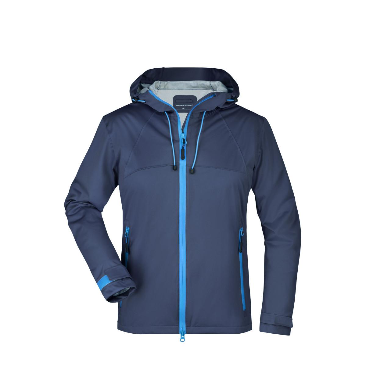 Куртка женская JN1097 Ladies Outdoor Jacket - Темно-синий/Кобальт