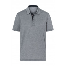 Рубашка поло мужская JN754 Men's Polo Bicolor - Темно-серый/Белый