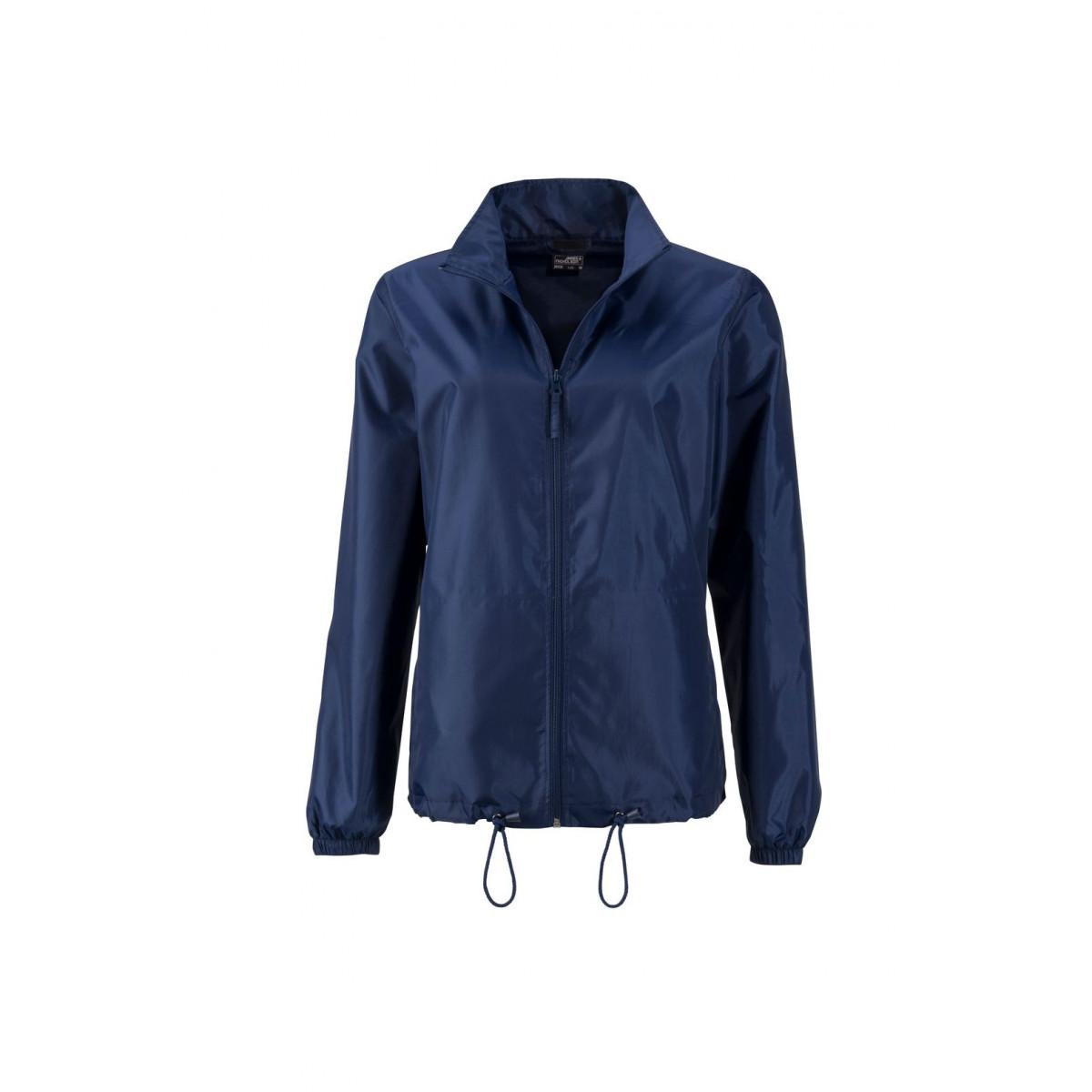 Куртка женская JN1131 Ladies Promo Jacket - Темно-синий