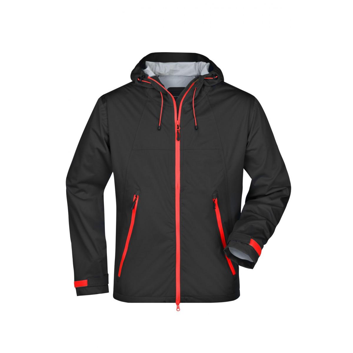 Куртка мужская JN1098 Mens Outdoor Jacket - Черный/Красный