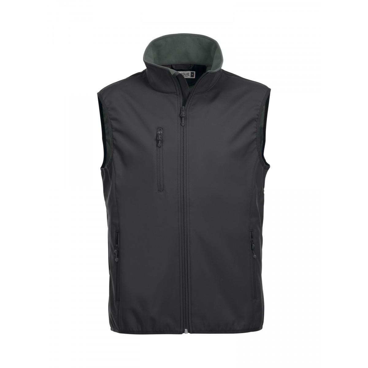 Жилет мужской 020911 Basic Softshell Vest - Черный