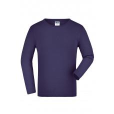 Футболка детская JN913K Junior Shirt Long-Sleeved Medium - Темно-фиолетовый