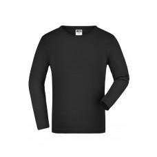 Футболка детская JN913K Junior Shirt Long-Sleeved Medium - Черный