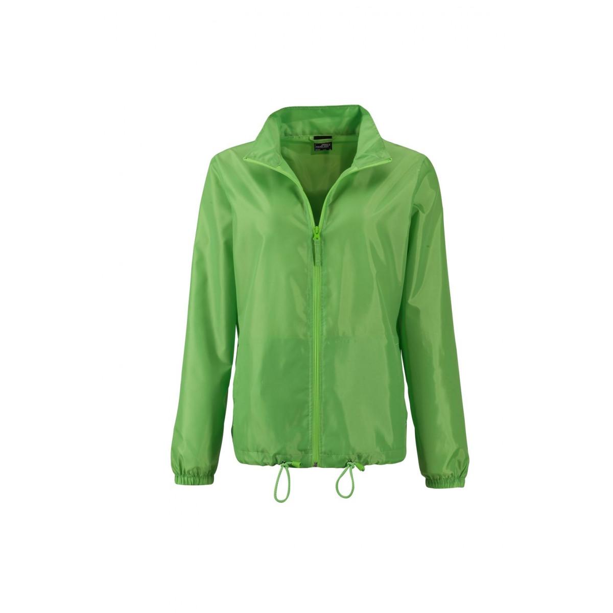 Куртка женская JN1131 Ladies Promo Jacket - Насыщенный зеленый