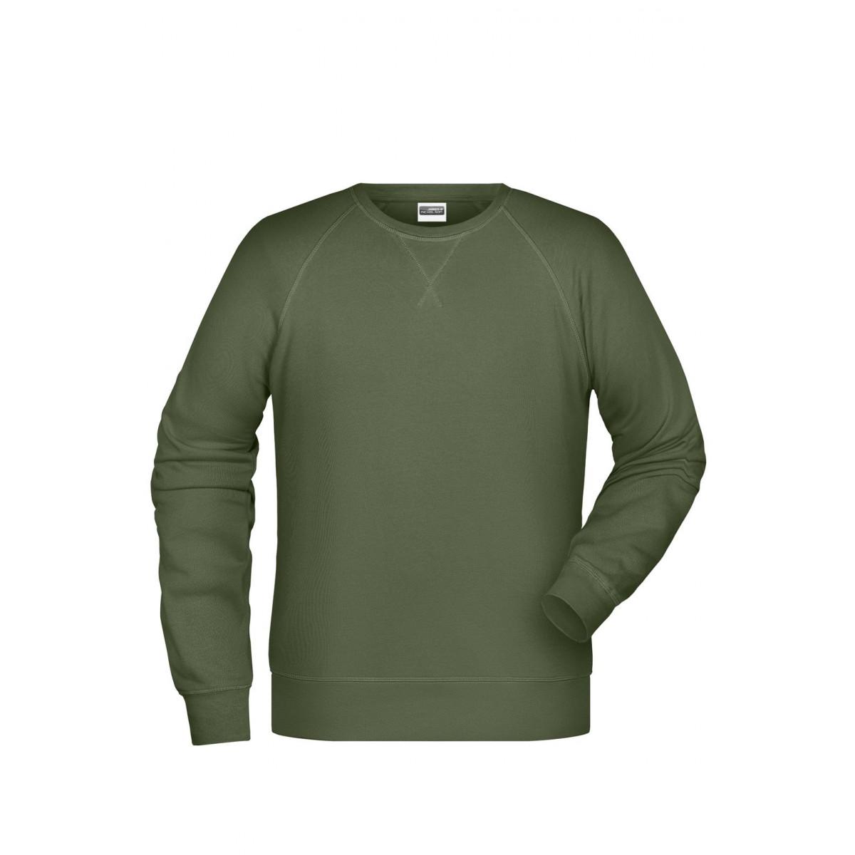 Толстовка мужская 8022 Men´s Sweat - Оливковый