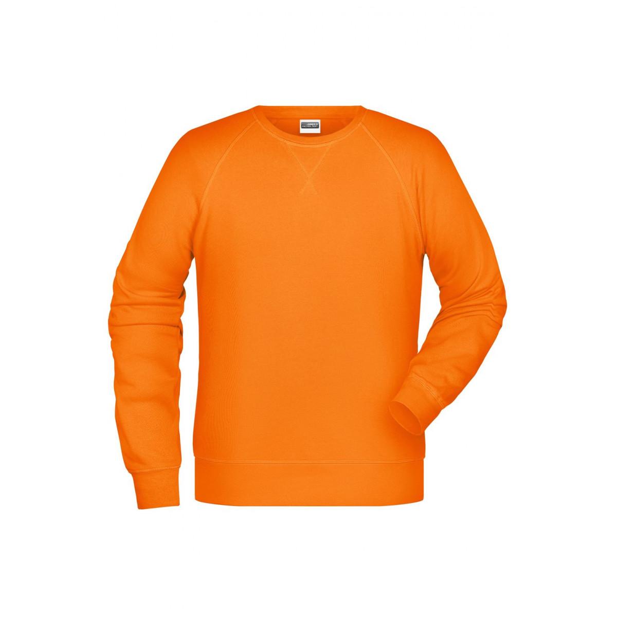 Толстовка мужская 8022 Men´s Sweat - Оранжевый