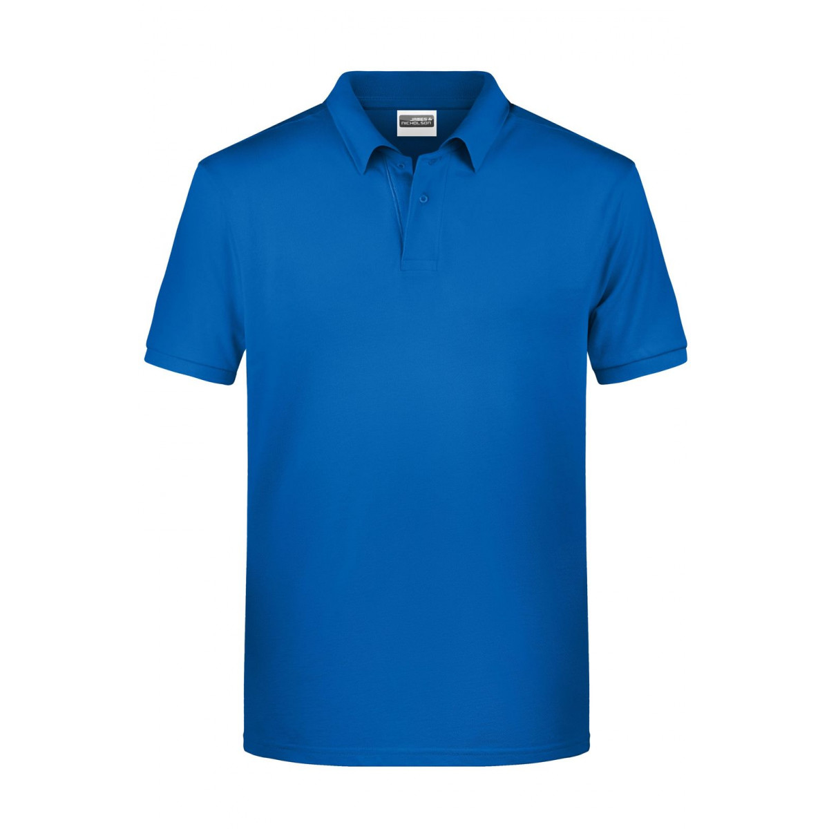 Рубашка поло мужская 8010 Mens Basic Polo - Ярко-синий