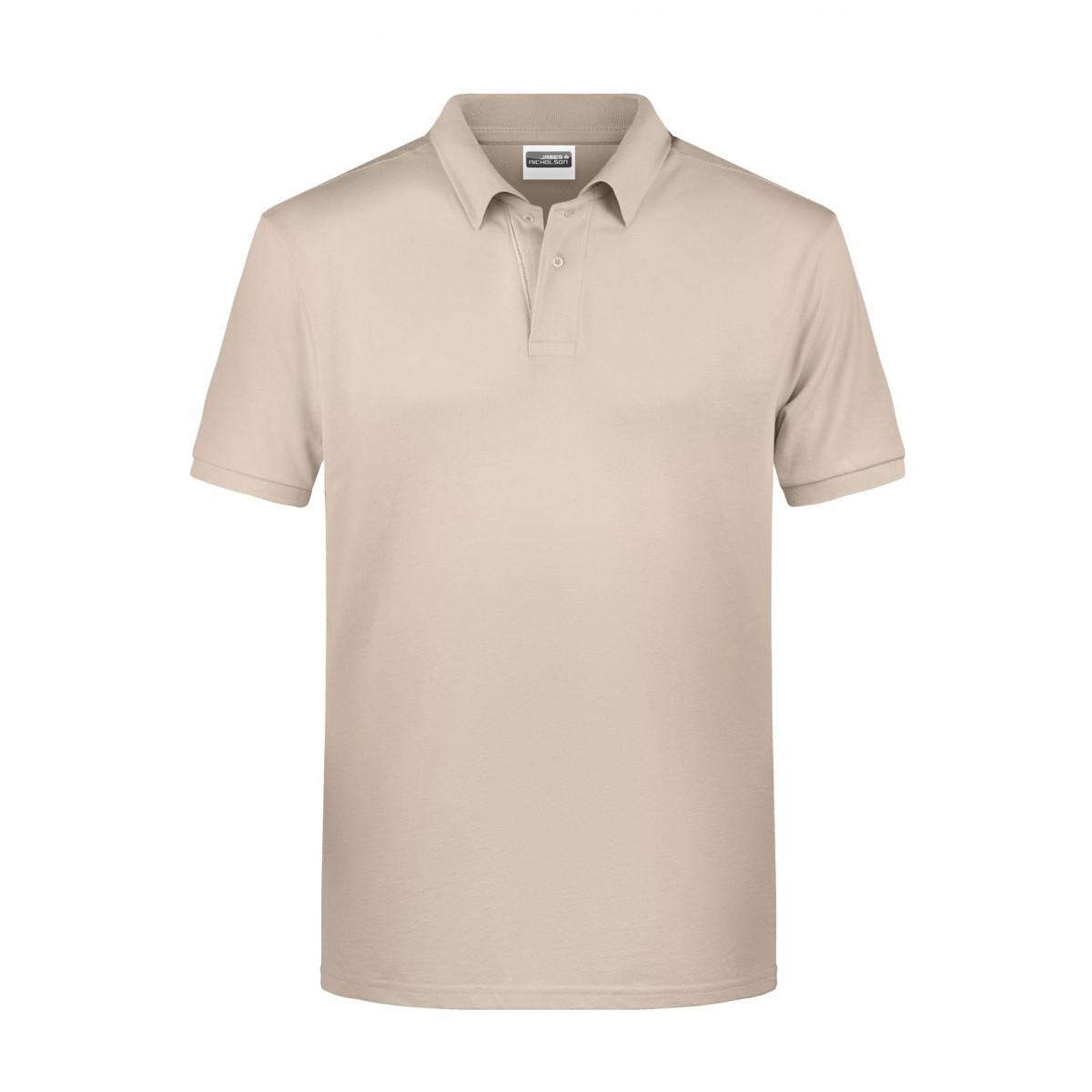 Рубашка поло мужская 8010 Mens Basic Polo - Бежевый