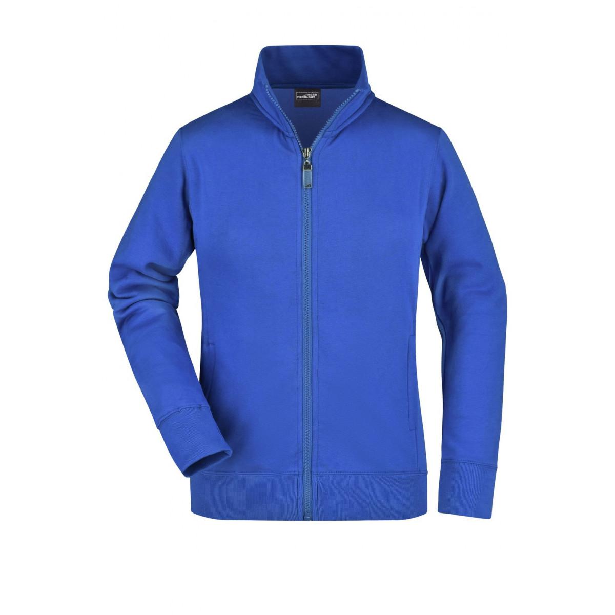 Толстовка женская JN052 Ladies Jacket - Ярко-синий