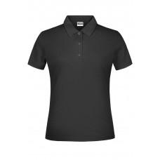 Рубашка поло женская JN791 Basic Polo Lady - Черный