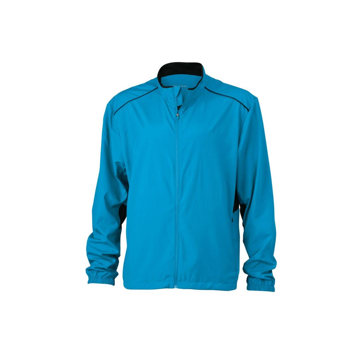 Куртка мужская JN476 Mens Performance Jacket - Ярко-синий/Черный