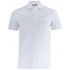 Рубашка поло унисекс 028255 Basic Polo Pocket - Белый