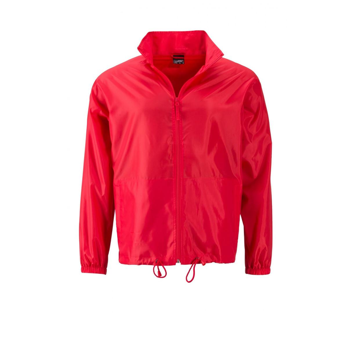 Куртка мужская JN1132 Mens Promo Jacket - Светло-красный