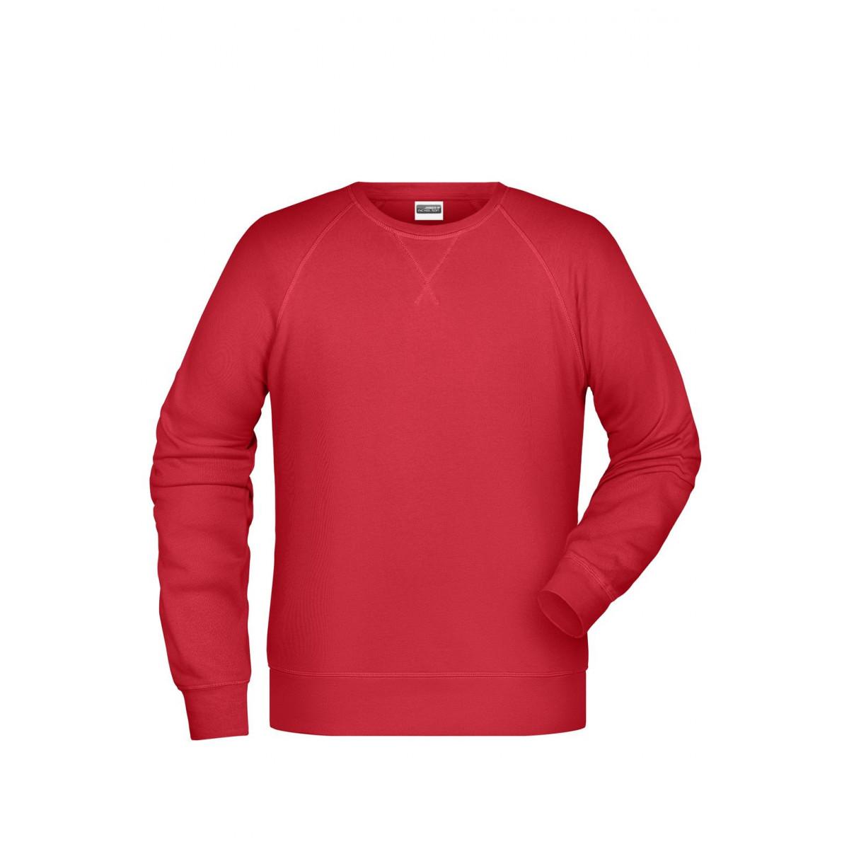 Толстовка мужская 8022 Men´s Sweat - Красный