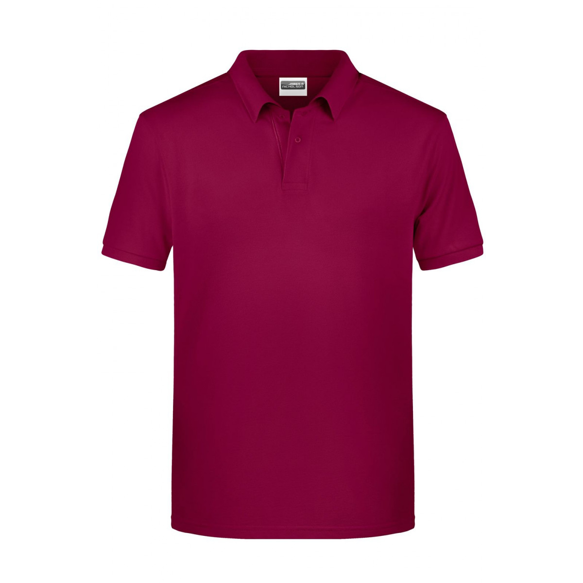 Рубашка поло мужская 8010 Mens Basic Polo - Бордовый