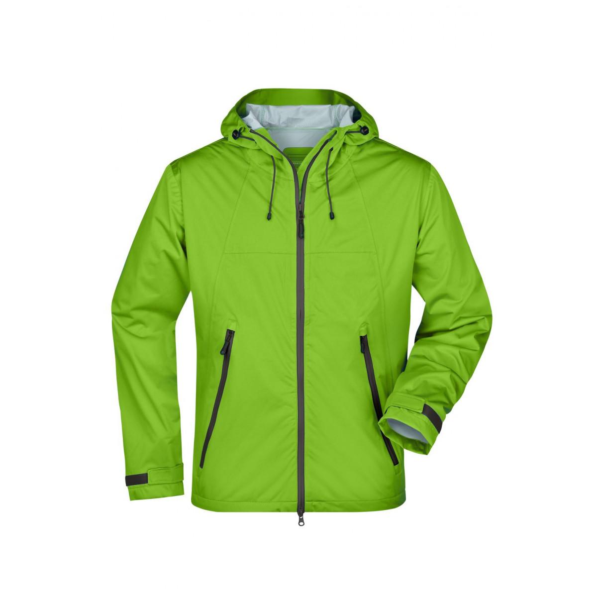 Куртка мужская JN1098 Mens Outdoor Jacket - Насыщенный зеленый/Стальной