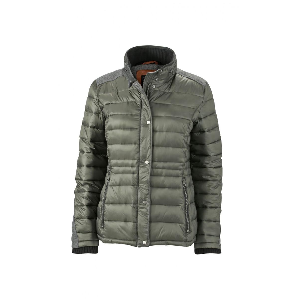 Куртка женская JN1099 Ladies Winter Jacket - Цвет хвои