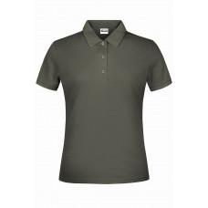 Рубашка поло женская JN791 Basic Polo Lady - Темно-серый