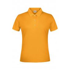 Рубашка поло женская JN791 Basic Polo Lady - Золоистый желтый
