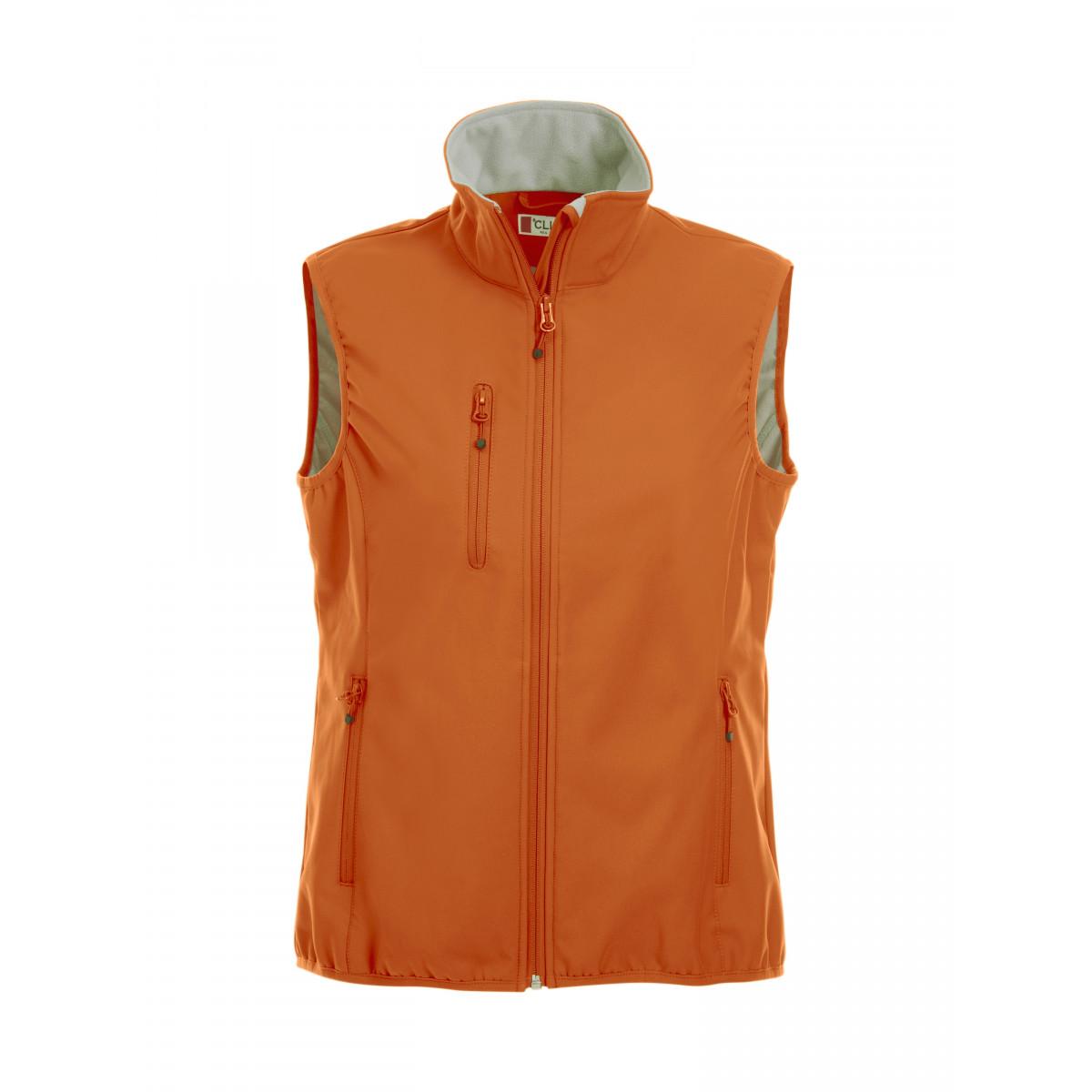 Жилет женский 020916 Basic Softshell Vest Ladies - Темно-оранжевый