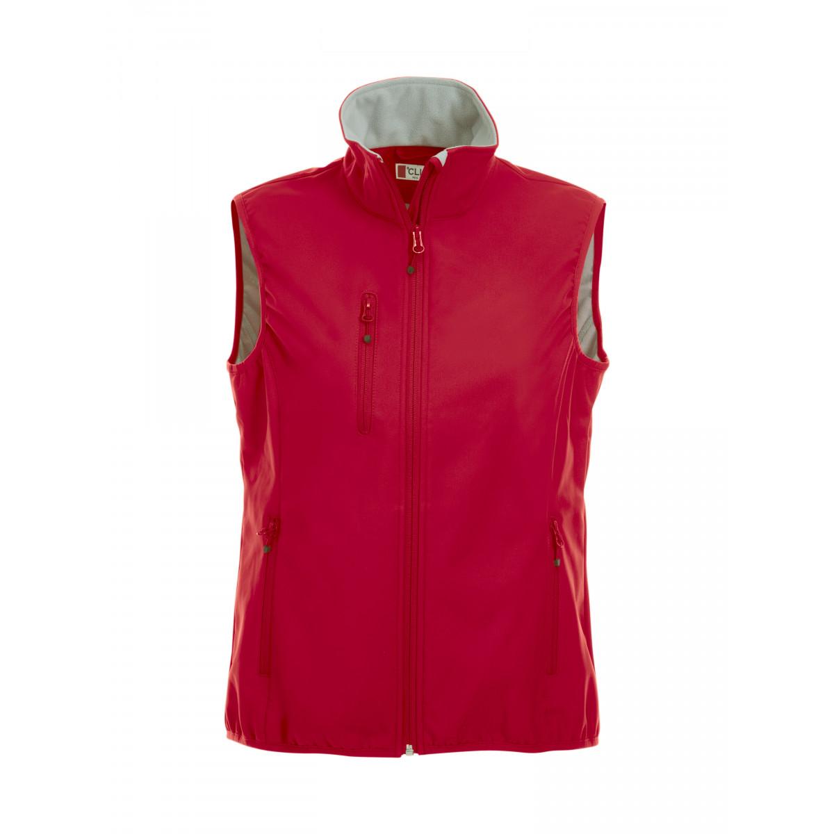 Жилет женский 020916 Basic Softshell Vest Ladies - Красный