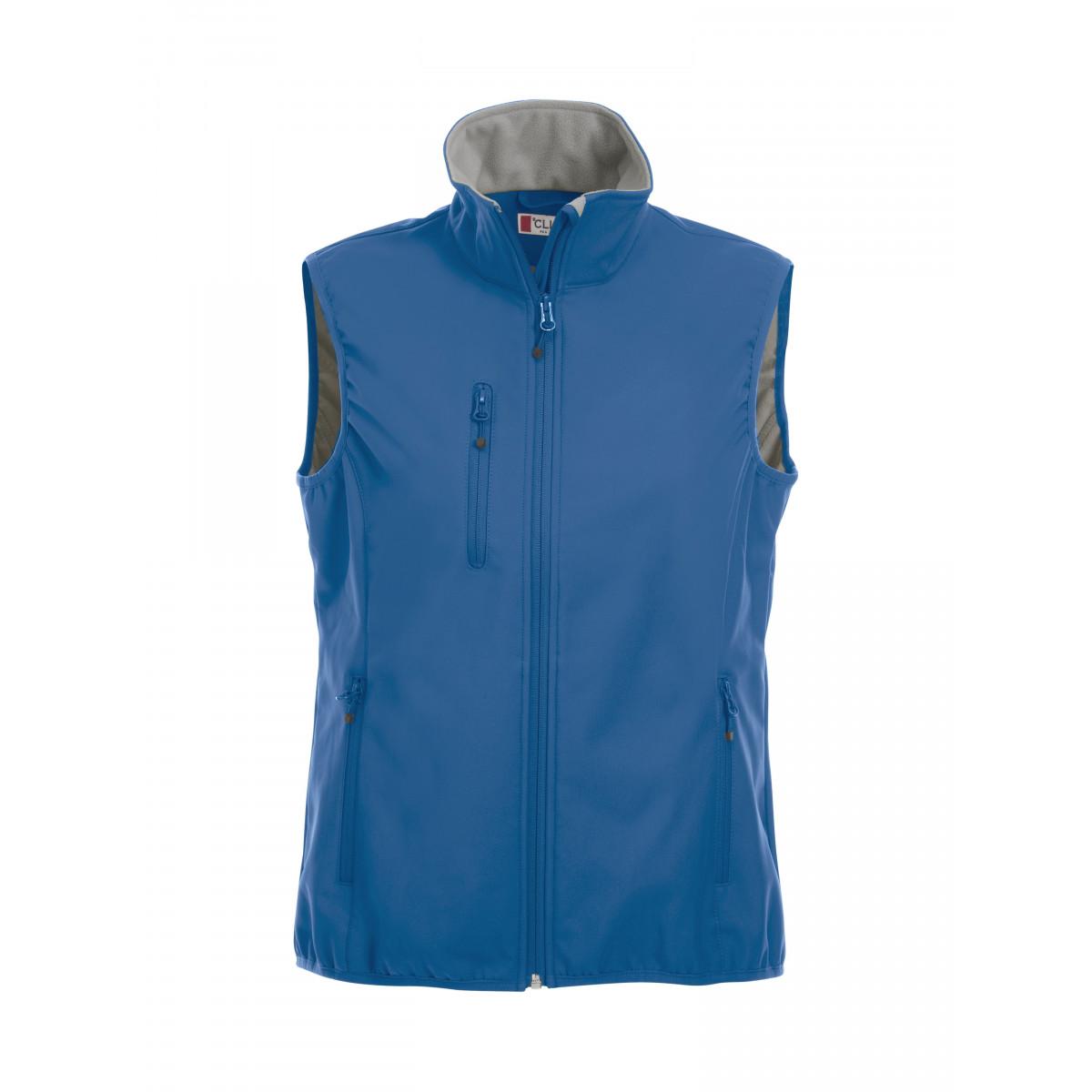 Жилет женский 020916 Basic Softshell Vest Ladies - Ярко-синий