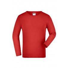Футболка детская JN913K Junior Shirt Long-Sleeved Medium - Красный