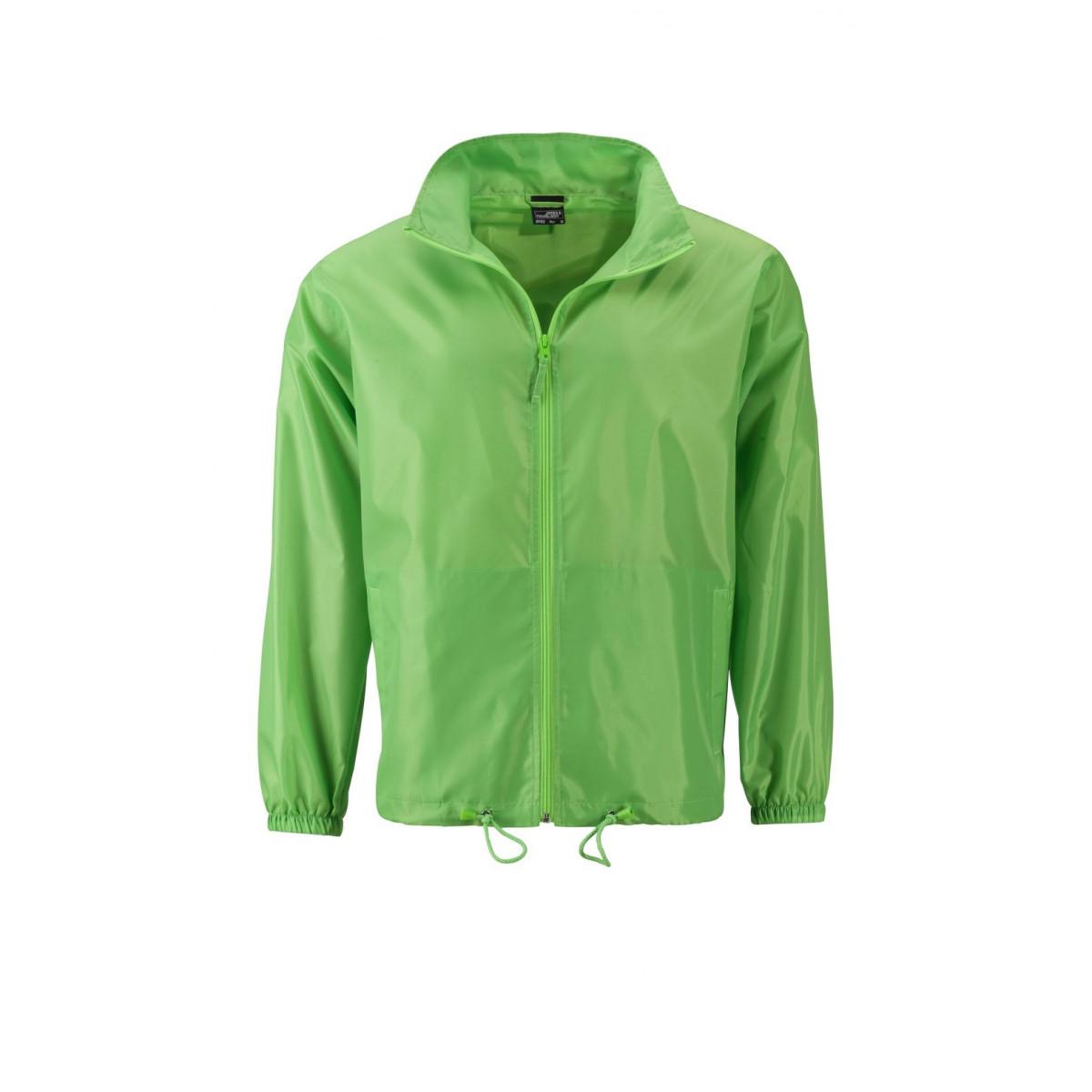 Куртка мужская JN1132 Mens Promo Jacket - Насыщенный зеленый
