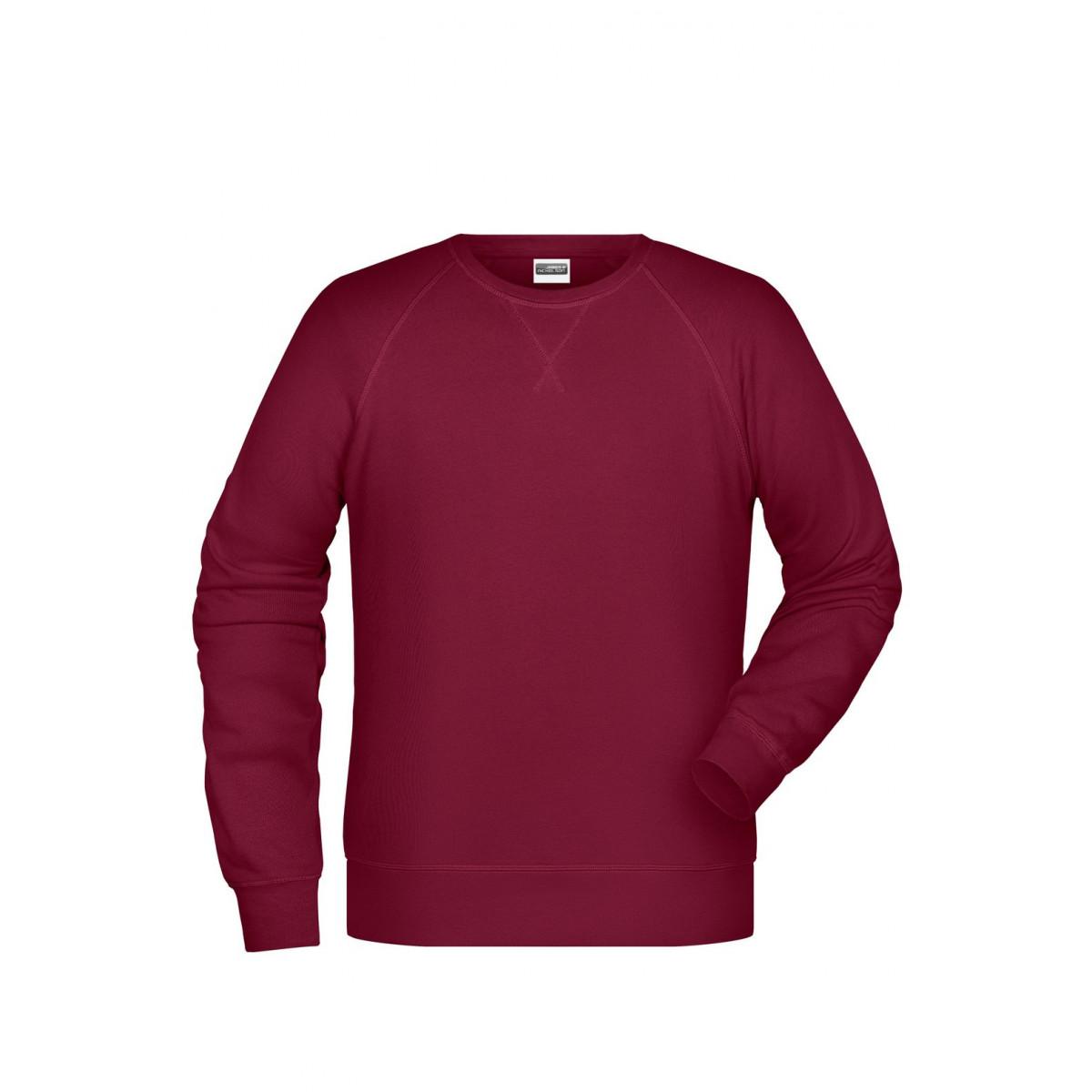 Толстовка мужская 8022 Men´s Sweat - Бордовый