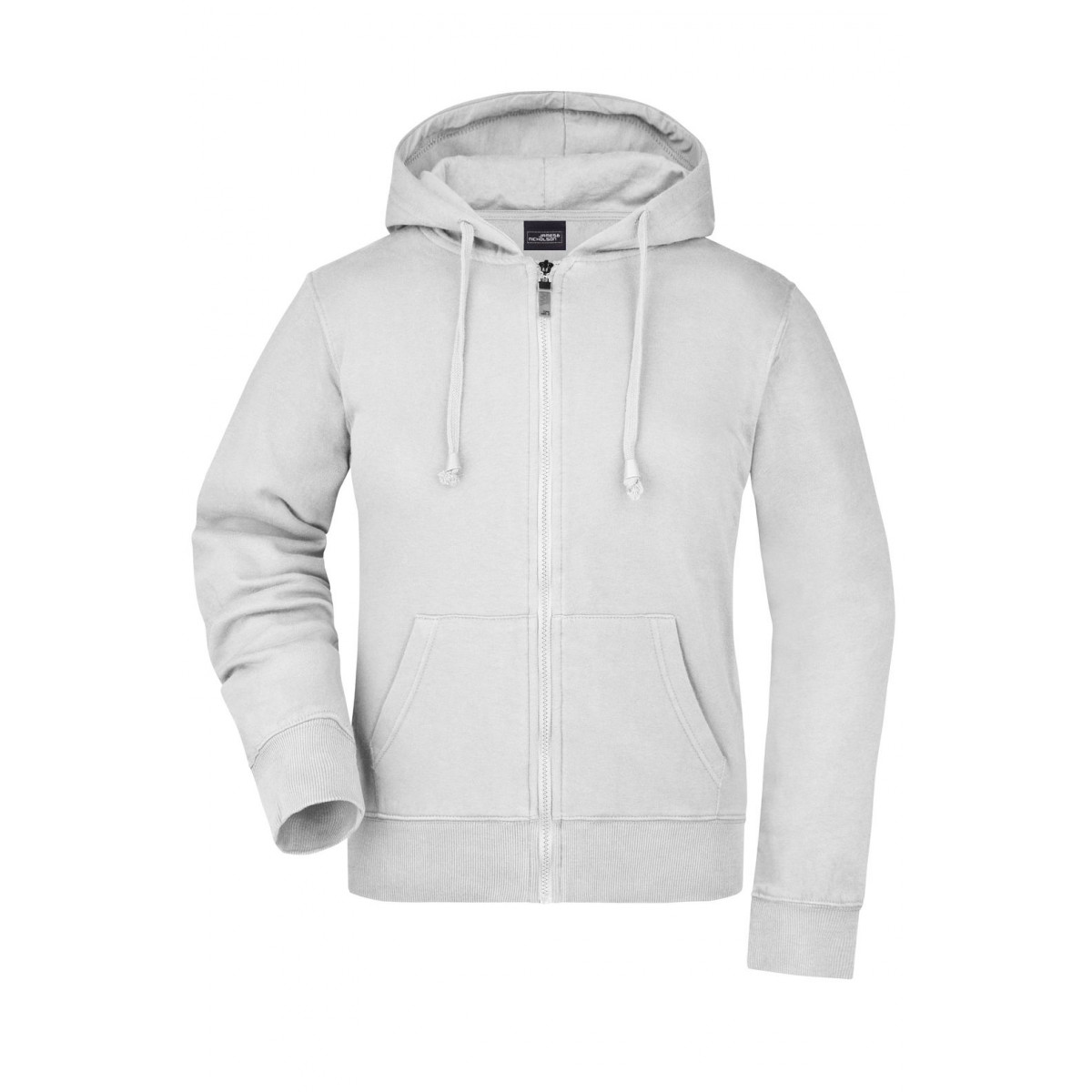 Толстовка женская JN053 Ladies Hooded Jacket - Белый
