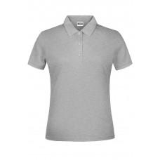 Рубашка поло женская JN791 Basic Polo Lady - Серый меланж