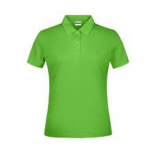 Рубашка поло женская JN791 Basic Polo Lady - Лайм