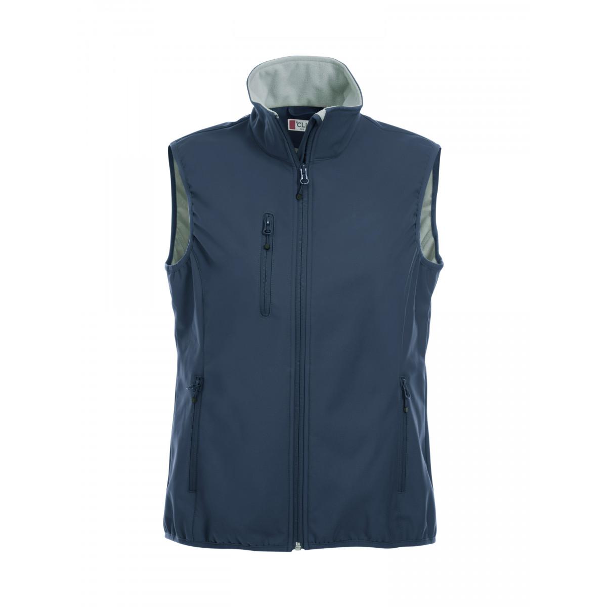 Жилет женский 020916 Basic Softshell Vest Ladies - Темно-синий
