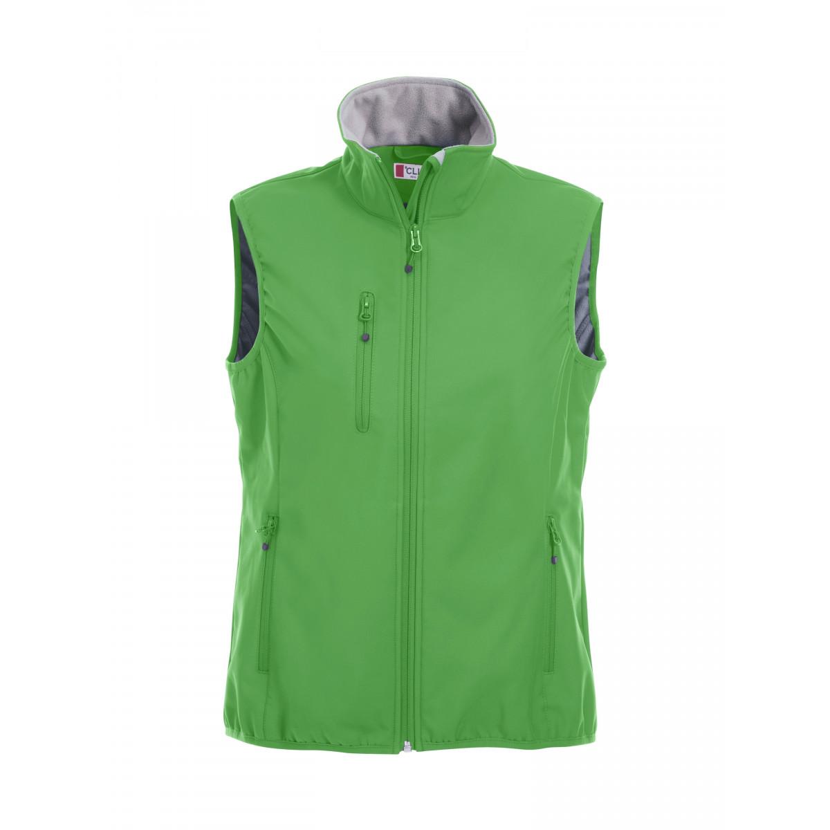 Жилет женский 020916 Basic Softshell Vest Ladies - Насыщенный зеленый