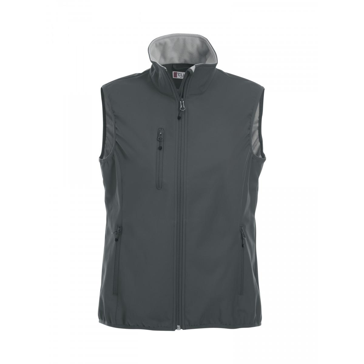 Жилет женский 020916 Basic Softshell Vest Ladies - Темно-серый