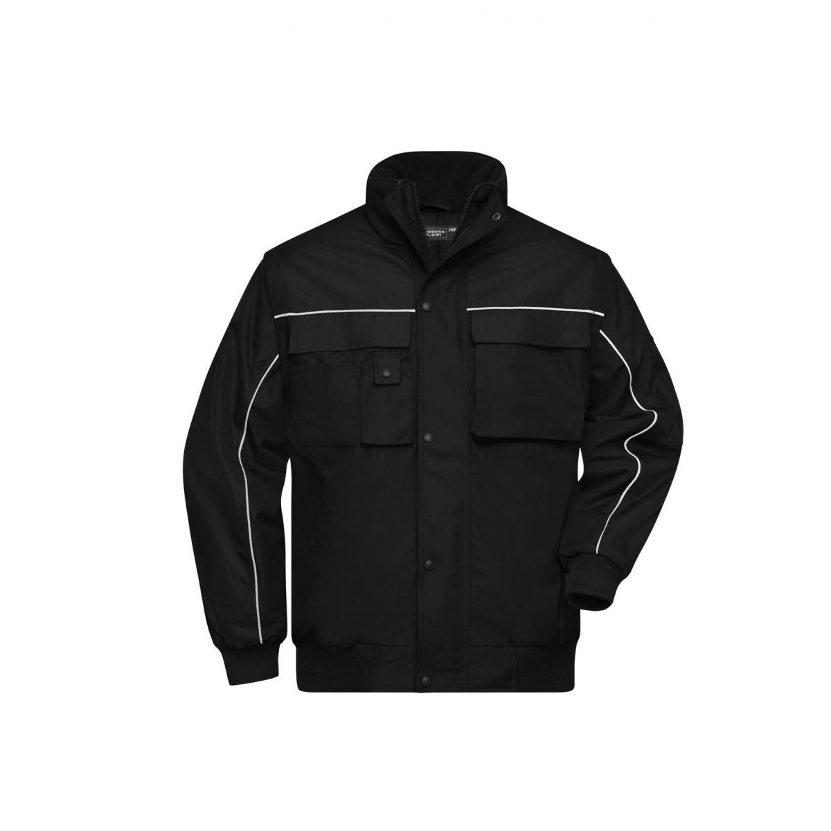 Куртка мужская JN810 Workwear Jacket - Черный/Черный
