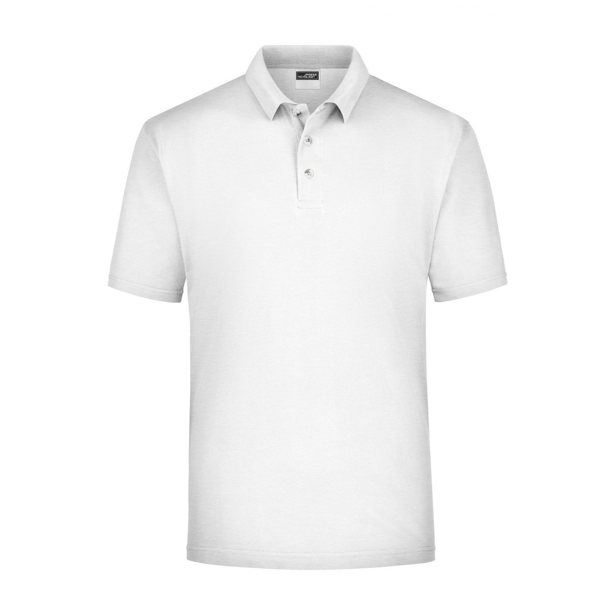 Рубашка поло мужская JN020 Polo Piqué Medium - Пепельный