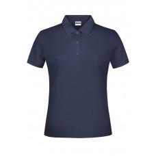 Рубашка поло женская JN791 Basic Polo Lady - Темно-синий