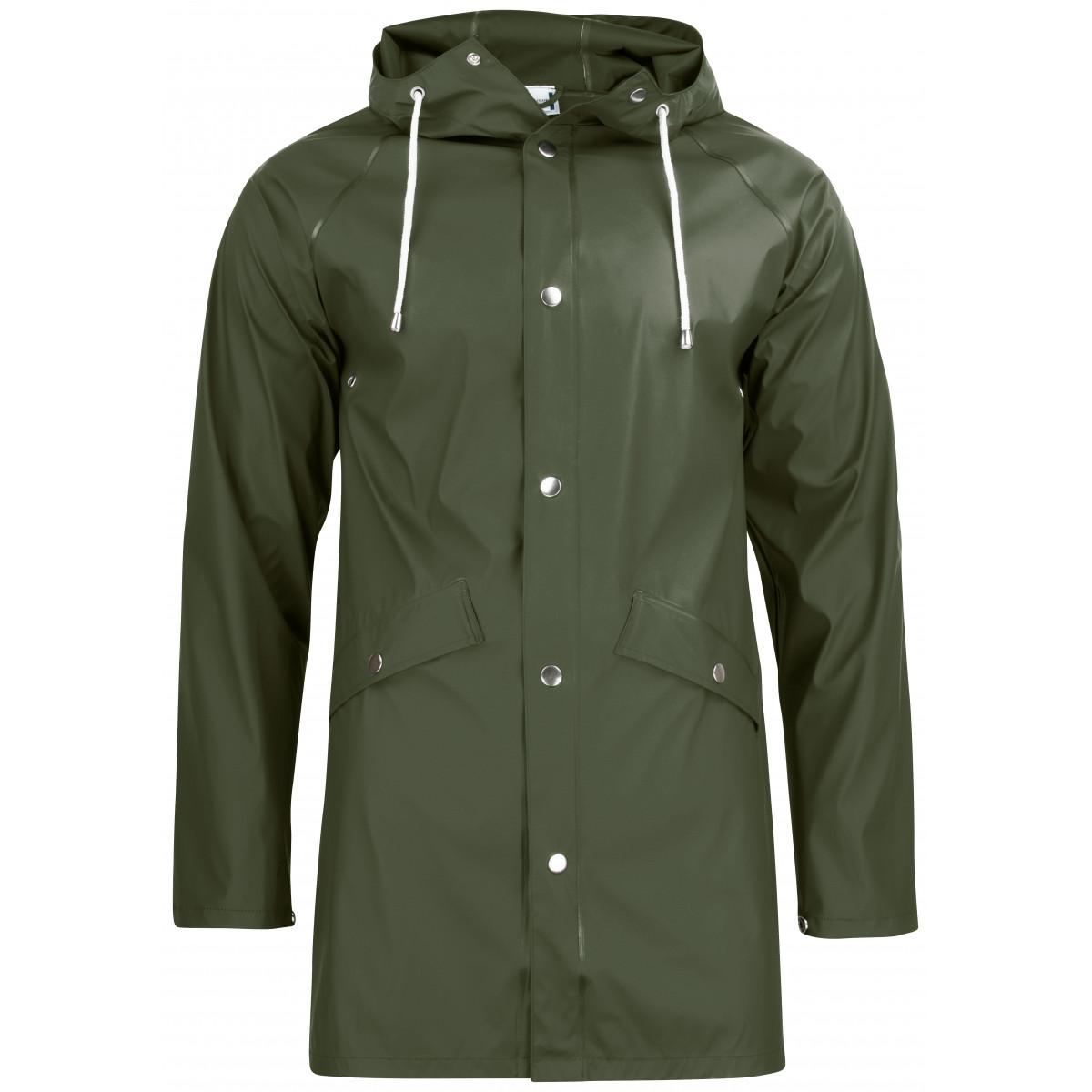 Дождевик унисекс 020939 Classic Rain Jacket - Охотничий зеленый