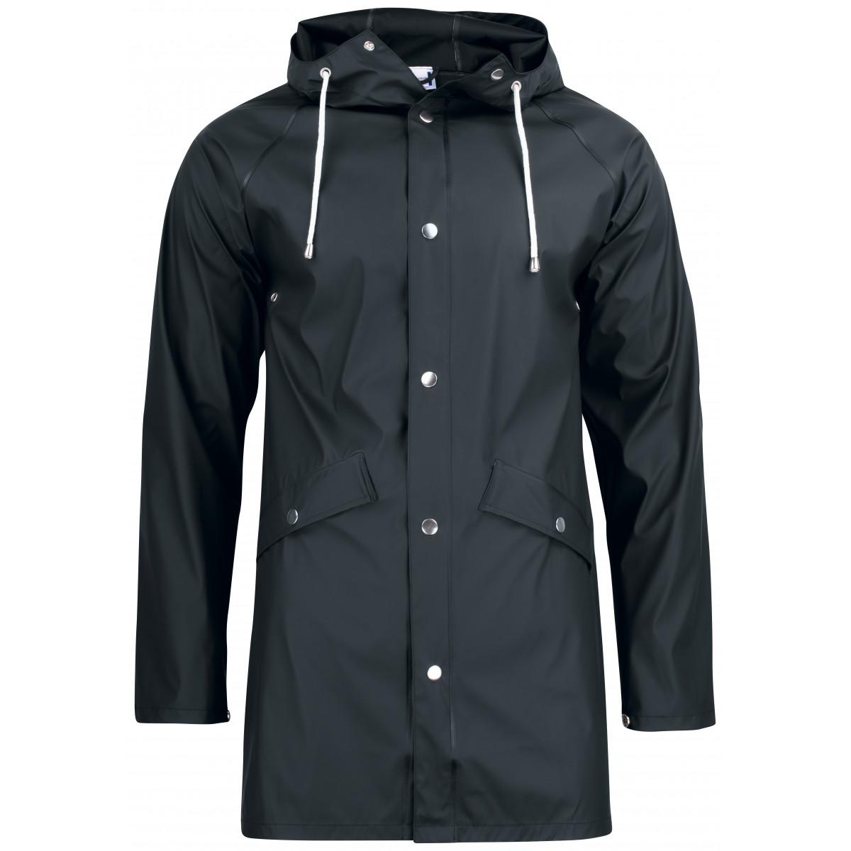 Дождевик унисекс 020939 Classic Rain Jacket - Черный